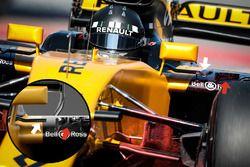 Détails de la de Renault RS17 de Nico Hülkenberg