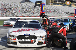 Cole Custer, Stewart-Haas Racing Ford pit stop