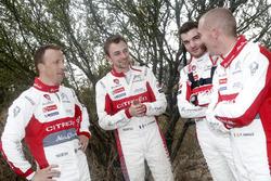 Stéphane Lefebvre, Gabin Moreau, Citroën C3 WRC, Citroën World Rally Team et Kris Meeke, Paul Nagle, Citroën C3 WRC, Citroën World Rally Team