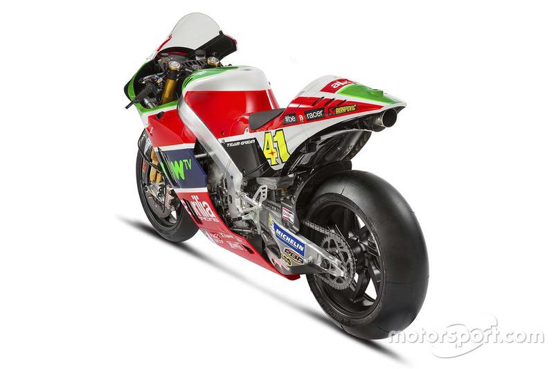 Moto di Aleix Espargaro, Aprilia Racing Team Gresini