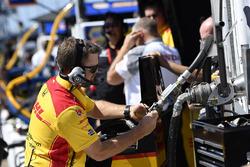 Ryan Hunter-Reay, Andretti Autosport Honda crew