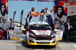 1. WRC3: Nil Solans, Miquel Ibanez, Ford Fiesta R2