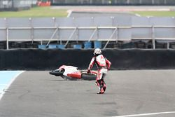 Takaaki Nakagami, Idemitsu Honda Team Asia, choque