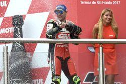 Podio: Cal Crutchlow, Team LCR Honda