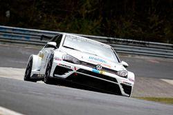 #173 mathilda racing, Volkswagen Golf GTI TCR: Andreas Gülden, Michael Paatz, Benjamin Leuchter