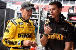 Matt Kenseth, Joe Gibbs Racing Toyota and Jason Ratcliff