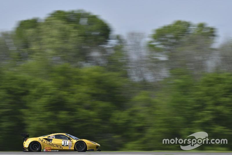 #31 TR3 Racing, Ferrari 488 GT3: Daniel Mancinelli, Andrea Montermini