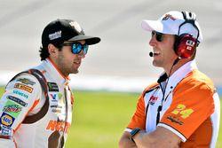 Chase Elliott, Hendrick Motorsports Chevrolet con Alan Gustafson