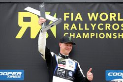Podium : Johan Kristoffersson, PSRX Volkswagen Sweden, VW Polo GTi