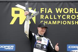 Podium: Johan Kristoffersson, PSRX Volkswagen Sweden, VW Polo GTi