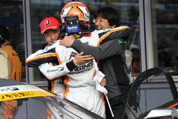 #51 JMS P.MU LMcorsa RC F GT3:中山雄一, 坪井翔
