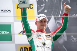 Podium : le troisième Maximilian Günther, Prema Powerteam Dallara F317 - Mercedes-Benz