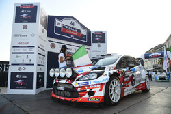 Partenza: Stefano Albertini, Danilo Fappani, Ford Fiesta WRC, Mirabella Mille Miglia