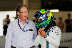 Frank Dernie y Felipe Massa, Williams