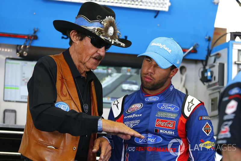 Richard Petty, Darrell Wallace Jr., Richard Petty Motorsports Ford