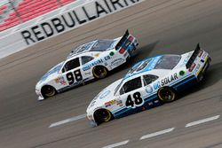 Aric Almirola, Ford, Brennan Poole, Chip Ganassi Racing Chevrolet