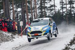 Daniel Rosjel, Nicklas Edvardsson, Ford Fiesta R2