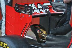 Haas VF-16 rear wing