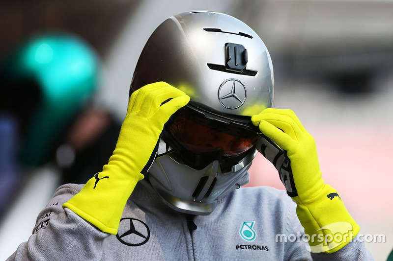 Mechaniker, Mercedes AMG F1