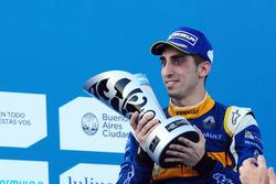 Podium: second place Sébastien Buemi, Renault e.Dams