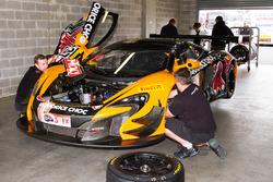 #37 Keltic Racing McLaren 650S: Tony Quinn, Klark Quinn, Craig Baird