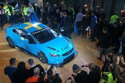 Volvo S60 TC1 Polestar Cyan Racing, sede Volvo