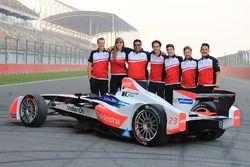 Mahindra Racing groepsfoto