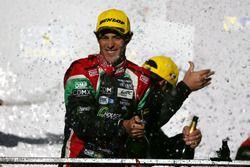 Podio LMP2: Bruno Senna, #43 RGR Sport by Morand Oreca 05 - Nissan