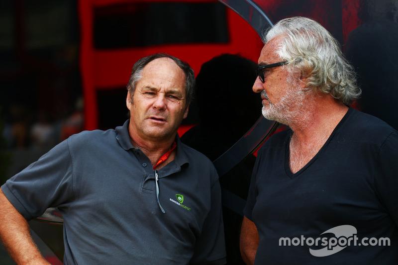 Gerhard Berger, ve Flavio Briatore