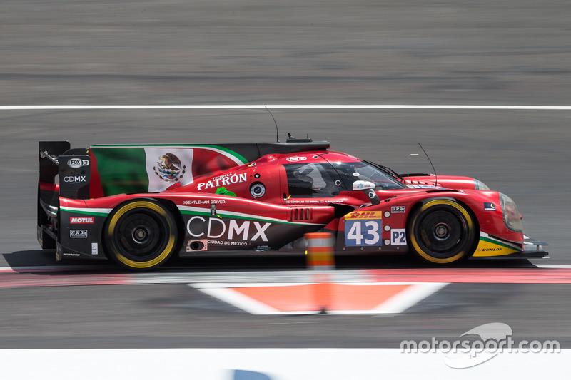 1. LMP2: #43 RGR Sport by Morand, Ligier JSP2 - Nissan: Ricardo Gonzalez, Filipe Albuquerque, Bruno Senna