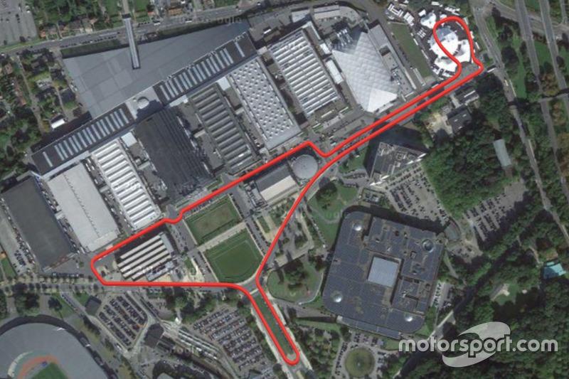 ePrix di Bruxelles, ipotesi di circuito