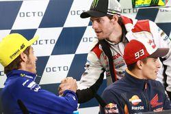 Valentino Rossi, Yamaha Factory Racing, Cal Crutchlow, Team LCR Honda, Marc Marquez, Repsol Honda Te