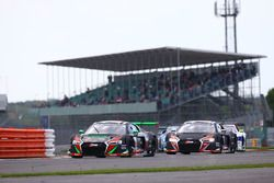 #28 Belgian Audi Club Team WRT, Audi R8 LMS: Antonio Garcia, Nico Müller, Will Stevens