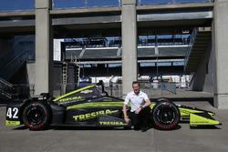 Charlie Kimball, Chip Ganassi Racing Chevrolet, avec un nouveau numéro
