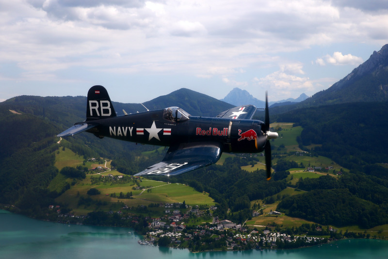 Red Bull Chance Vought F4U-4