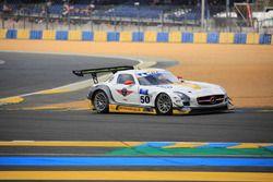 #50 Team Larbre Competition, Mercedes-Benz SLS AMG GT3: Christian Philippon, Franck Labescat