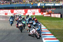 Francesco Bagnaia, Aspar Team Mahindra leads