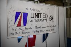 United Autosports sign