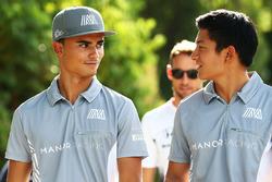 Pascal Wehrlein, Manor Racing avec Rio Haryanto, Manor Racing