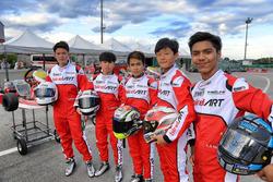 Les participants au Yamaha VR46 Master Camp