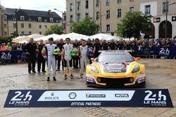 #50 Larbre Competition Chevrolet Corvette C7-R: Yutaka Yamagishi, Pierre Ragues, Jean-Philippe Bello