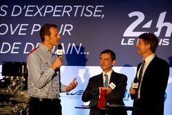 ACO Press Conference: Alex Wurz, Grand Marshal, Pierre Fillon, ACO President