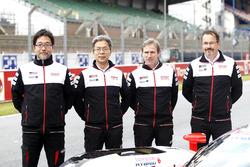 Hisatake Murata, Toshio Sato, Pascal Vasselon, Rob Leuben, Toyota Racing