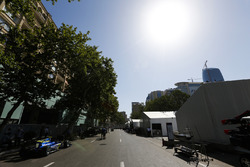 The GP2 paddock