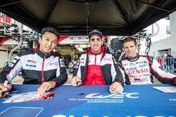 #5 Toyota Racing Toyota TS050 Hybrid: Kazuki Nakajima, Sテゥbastien Buemi, Anthony Davidson