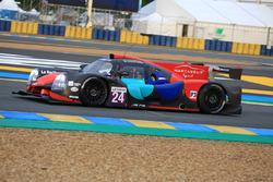 #24 Oak Racing, Ligier JPS3 - Nissan: Jacques Nicolet, Pierre Nicolet