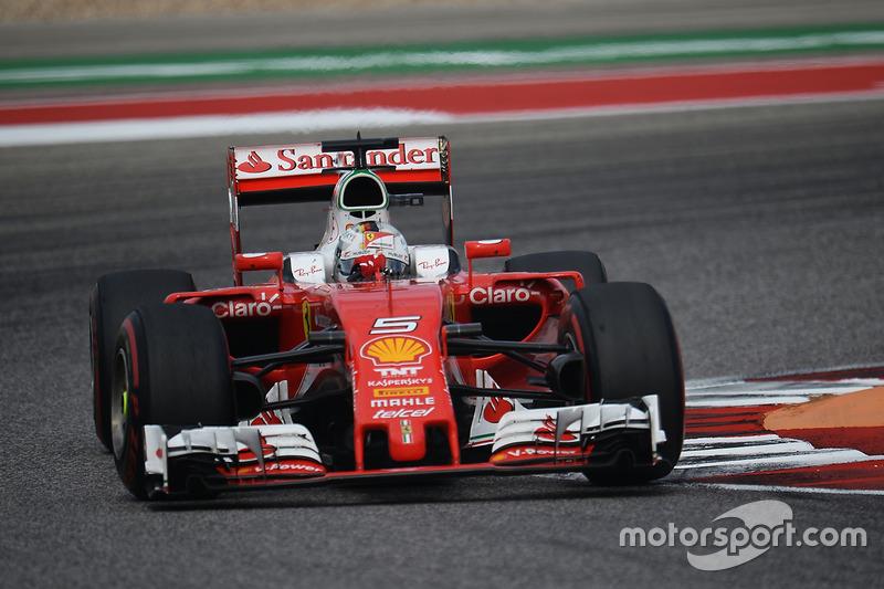 Sebastian Vettel aproveitou o abandono de Kimi Raikkonen e reassumiu a quarta colocação.