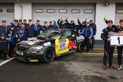 Podium: Alexander Mies, Michael Schrey, BMW M235i Racing Cup mit dem Einsatzteam Bonk Motorsport