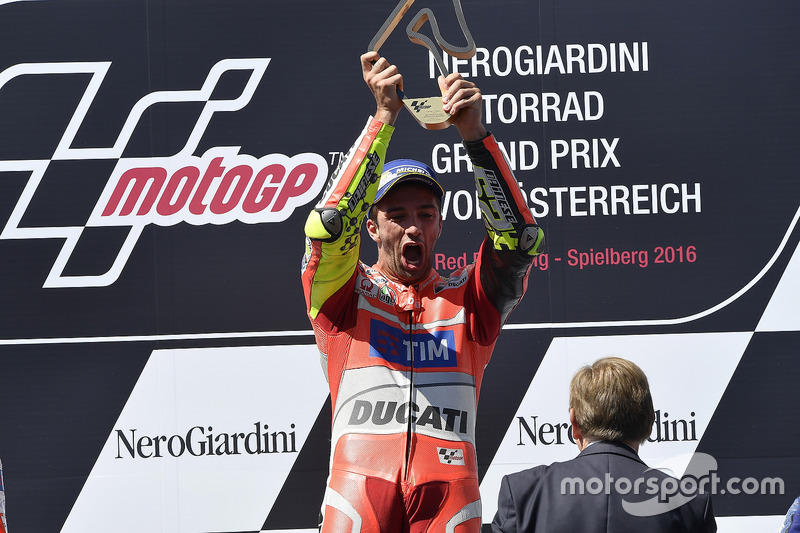 Race winner Andrea Iannone, Ducati Team