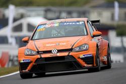 Vincent Radermecker/Kevin Balthazar, Milo Racing, VW Golf TCR